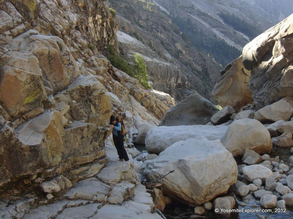Stranded Hikers Rescued from Tenaya Canyon - Yosemite National ...