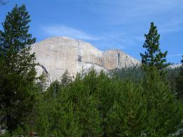 South Face of Half Dome from the trail