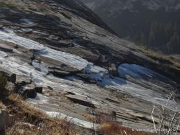 Ice on Pywiack Slabs