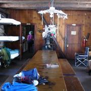 Ostrander Ski Hut interior