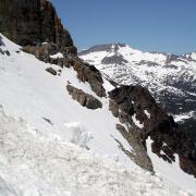 Ellery Bowl, avalanche debris