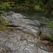 Swirled rocks by Merced River
