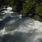 Looking downstream from Vernal Fall Footbridge