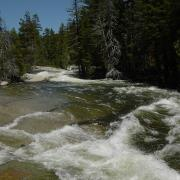 Merced River above Nevada Fall