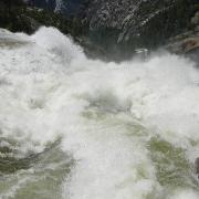 At the lip of Nevada Fall