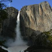 Upper Yosemite Falls from OMG Point