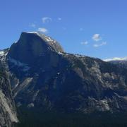 Half Dome from Columbia Point
