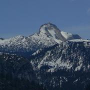 Mount Clark from Columbia Point
