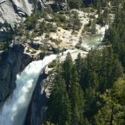 Nevada Fall from Panorama Trail
