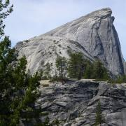 Half Dome and Subdome in Profile