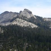 View of Cloud's Rest from Half Dome