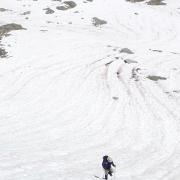 Steeper snow
