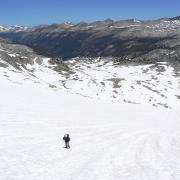 runnels in snow