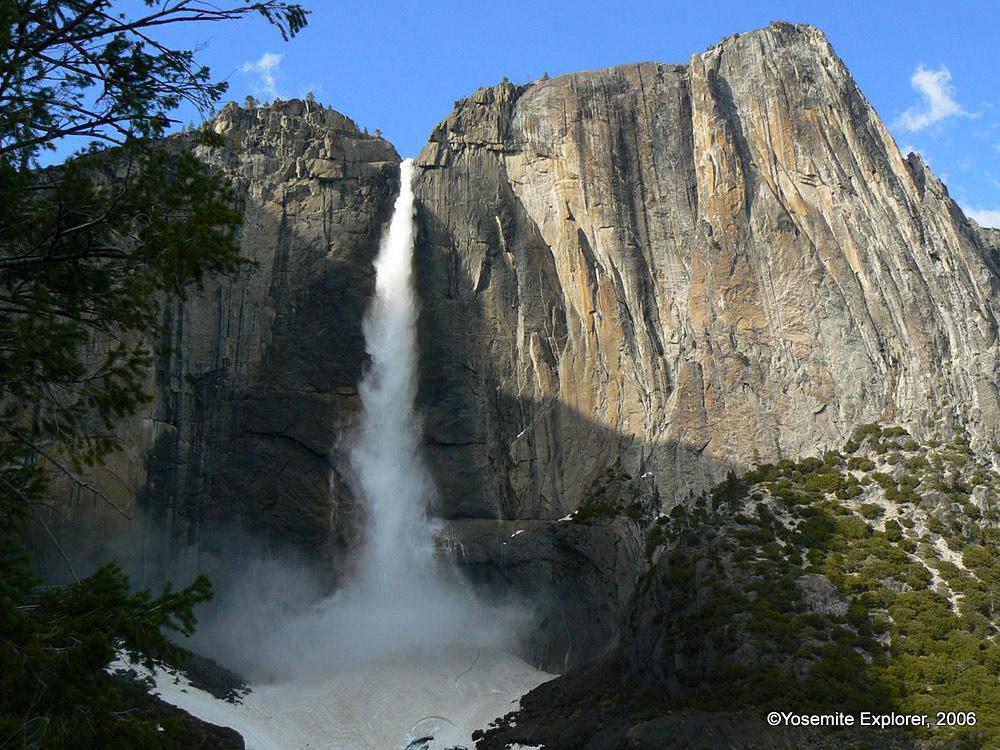Yosemite falls trail yosemite explorer yosemite falls trail publicscrutiny Choice Image