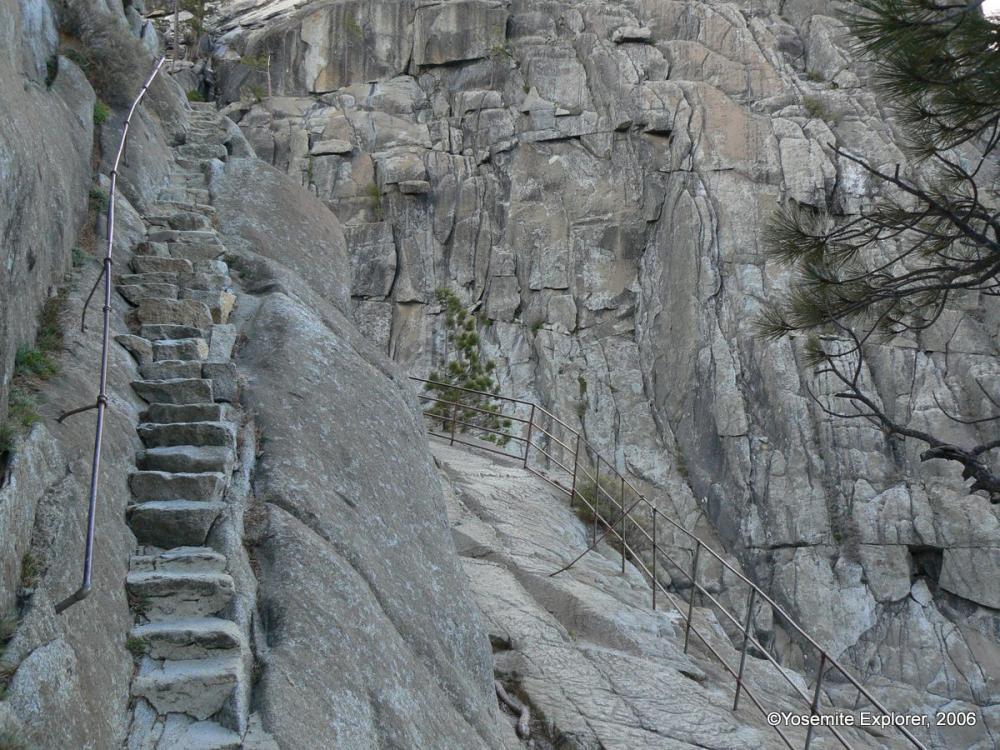 Yosemite falls trail yosemite explorer yosemite falls just before the drop afraid of heights trails publicscrutiny Choice Image