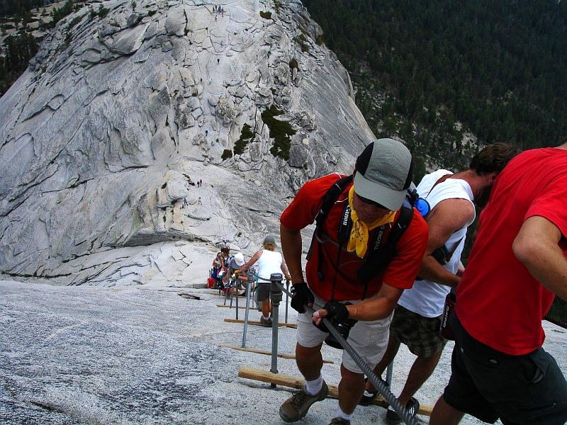 Half Dome Cables Route | Yosemite Explorer