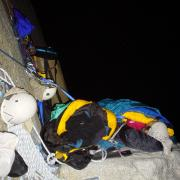 Bedtime on Lung Ledge