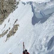 Theresa topping out in Ellery Bowl