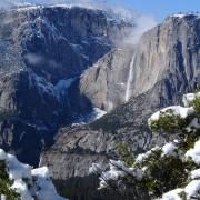 Yosemite Falls from Sierra Point