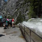 Vernal Fall lookout