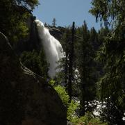 Nevada Fall comes into view
