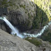Lower Yosemite Fall from OMG Point