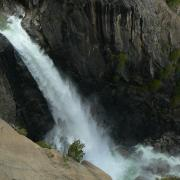 Lower Yosemite Falls from OMG Point